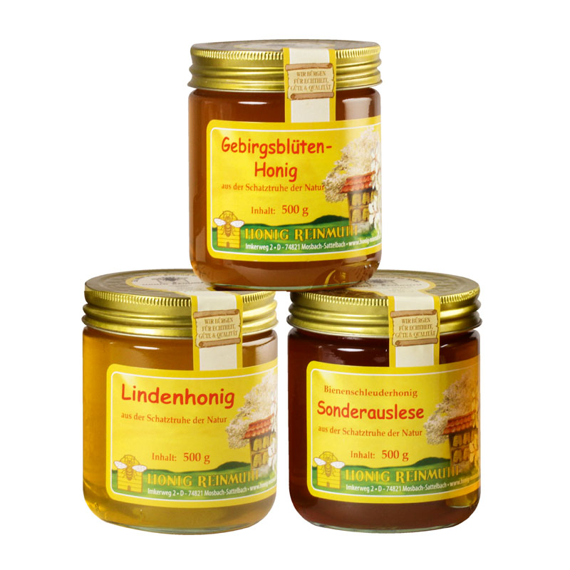 Aromatische, würzige Honige