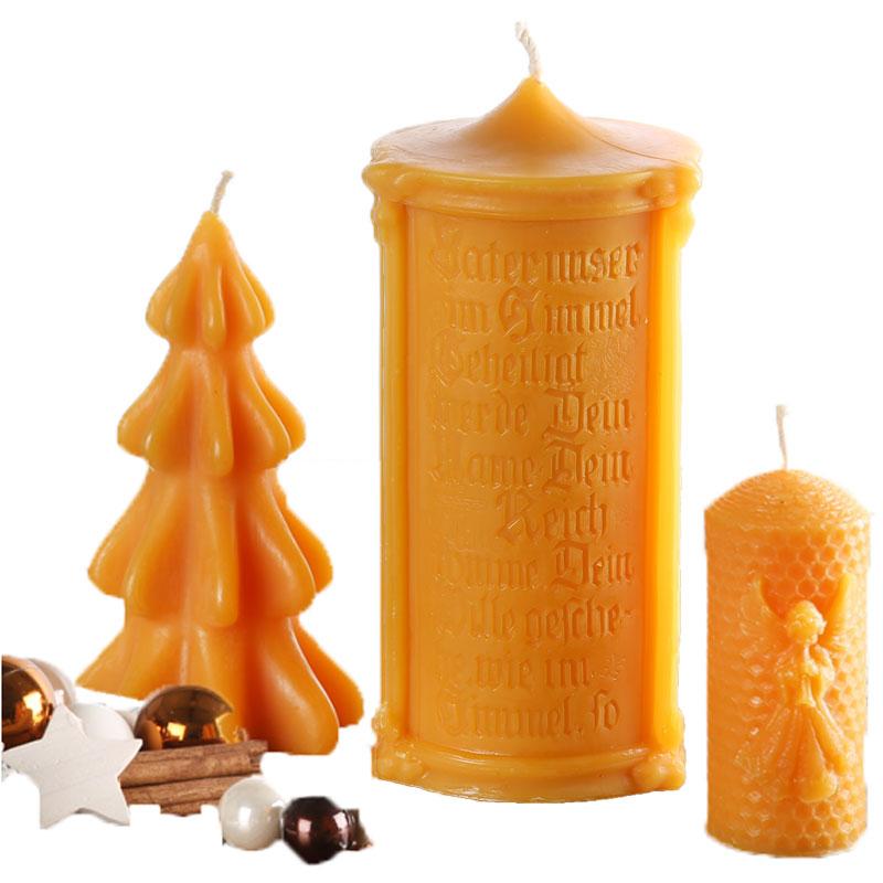 Bienenwachs und Kerzen