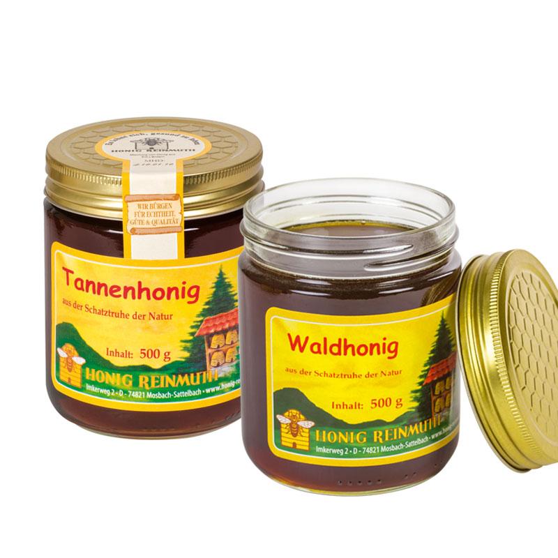 Dunkle, kräftige Honige