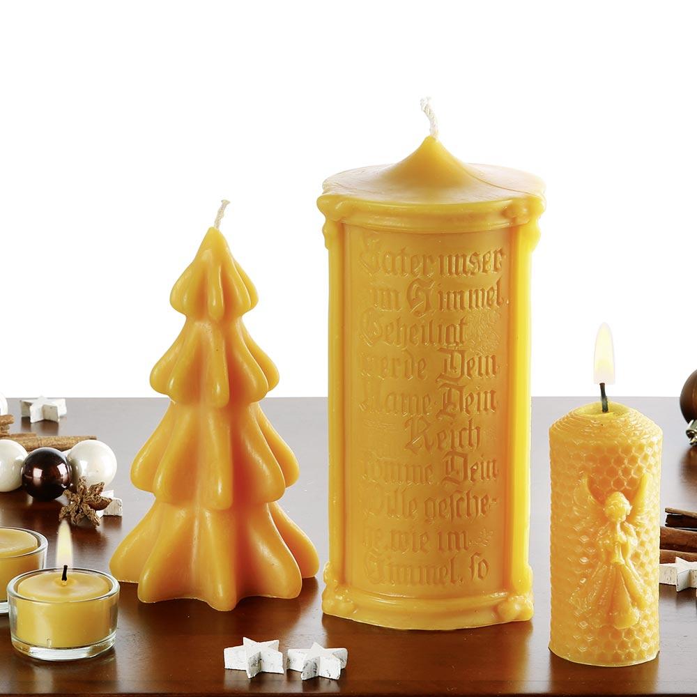 Kerzen zu Weihnachten