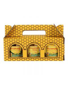 Honig-Geschenk-Karton 3 x 250 g