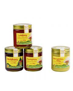 Honigpaket des Monats Mai 4x500g