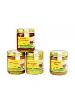 Honigpaket 4 x 500 g im September