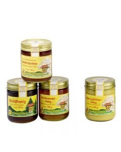 Honigpaket Juli 4 x 500 g