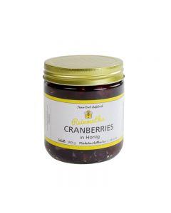 Cranberries in Honig 500 g