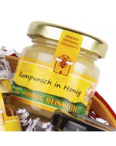 Rumpunsch in Honig