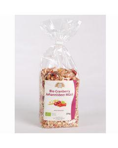 Bio-Cranberry Johannisbeer Müsli