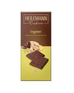 Edelbitter-Schokolade Ingwer