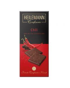 Edelbitter-Schokolade Chili