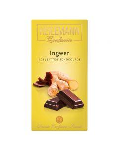 Edelbitter Schokolade mit Ingwer