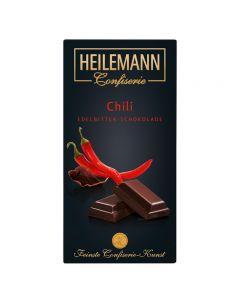 Edelbitter Schokolade mit Chili