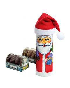 "Oblatendose ""Mini-Weihnachtsmann"""