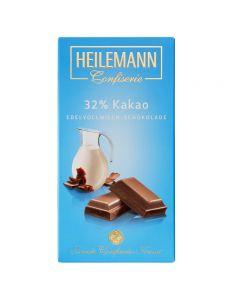 Edelvollmilch-Schokolade mit 32% Kakao