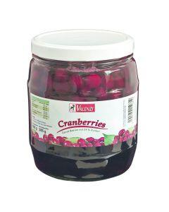 Cranberries im gesüßten Aufguss