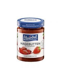Hagebutten mit Erdbeere Konfitüre extra