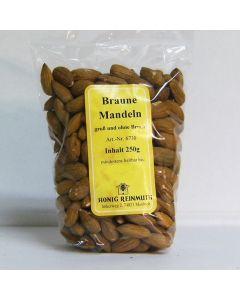 Braune Mandeln