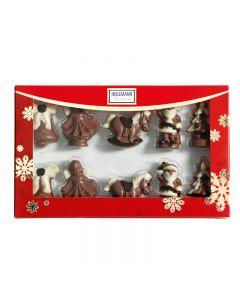 Hochfeine Schokolade-Figuren