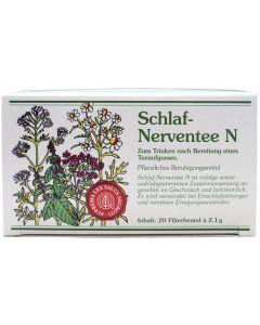 Schlaf-Nerventee N 20 Beutel à 2,1 g