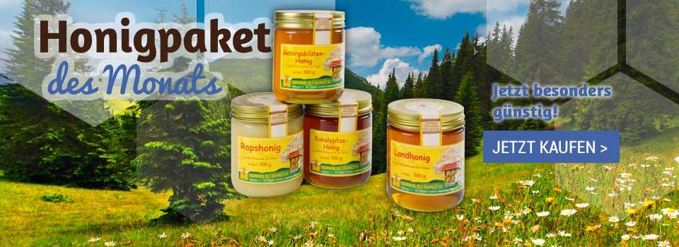 Honig-Paket des Monats