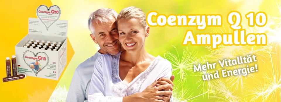 Das Co-Enzym Q10 besonders günstig