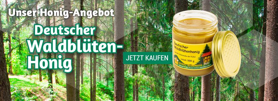Jetzt im Angebot: Deutscher Waldblütenhonig