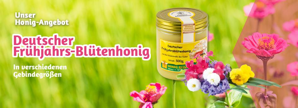 Deutscher Frühjahrsblütenhonig im Monatsangebot
