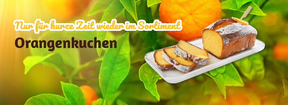 Feinster Orangenkuchen - extra lecker