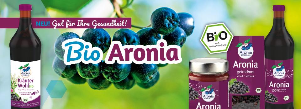 Bio Aronia-Produkte - jetzt besonders günstig