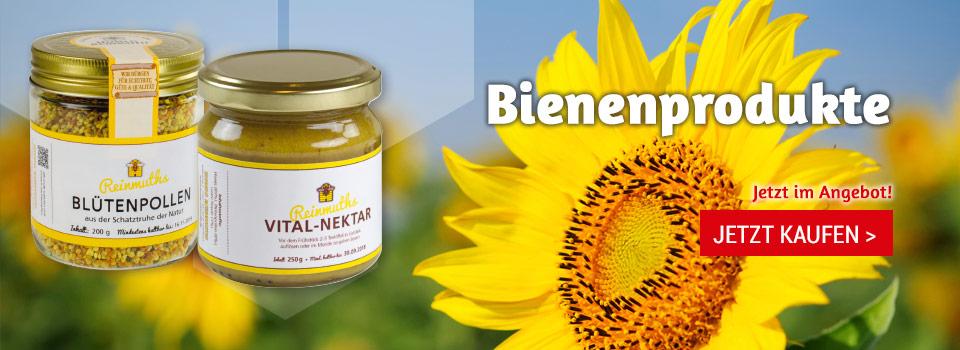 Bienenprodukte im Sonderangebot