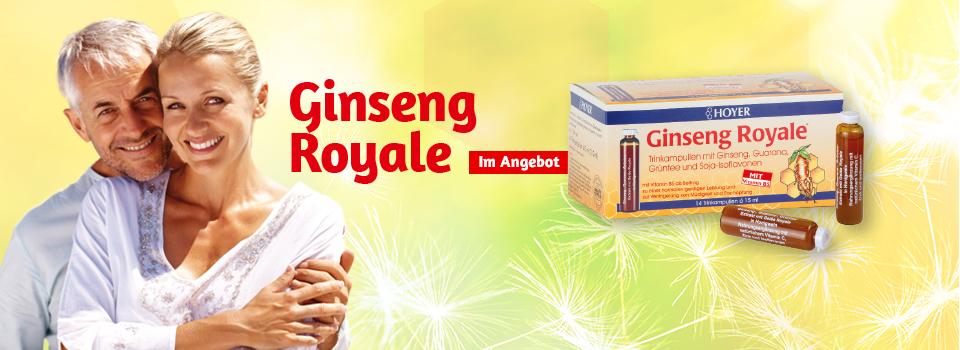 Ginseng Royale Trinkampullen im Angebot