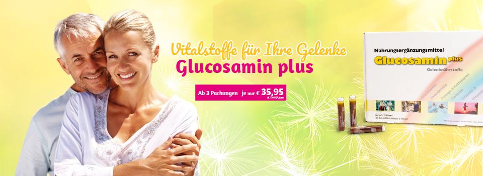 Glucosamin - jetzt zum Sonderpreis