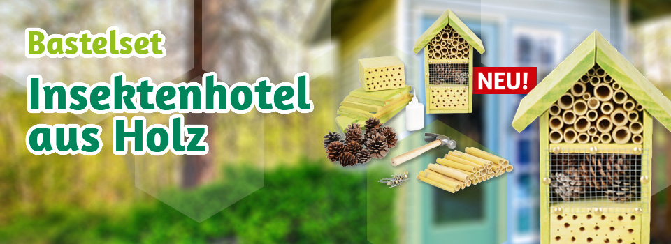 NEU: unser Insektenhotel als Bastelset