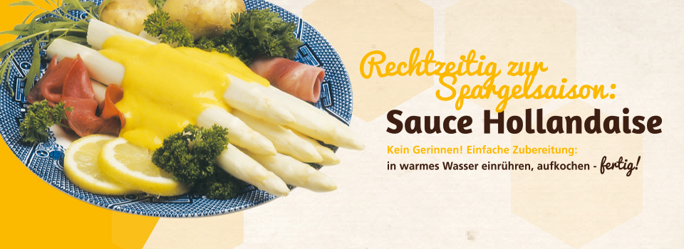 Sauce Hollandaise - besonders lecker zur Spargelsaison
