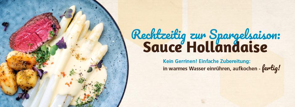 Zur Spargelsaison: Sauce Hollandaise