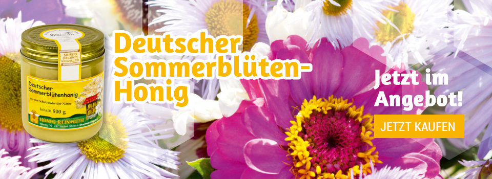 Deutscher Sommerblütenhonig