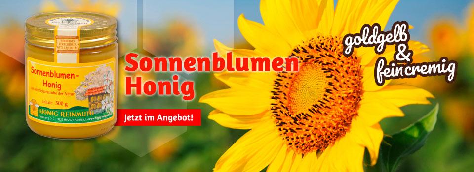 Sonnenblumenhonig - jetzt zum Sonderpreis