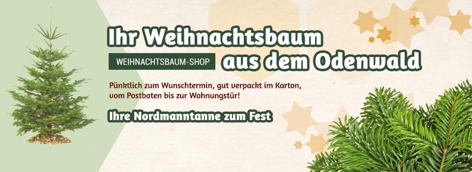 Reinmuths Weihnachtsbaum-Shop - Christbaum online bestellen