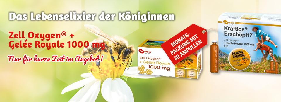 Zell-Oxygen® + Gelee Royale zum Sonderpreis