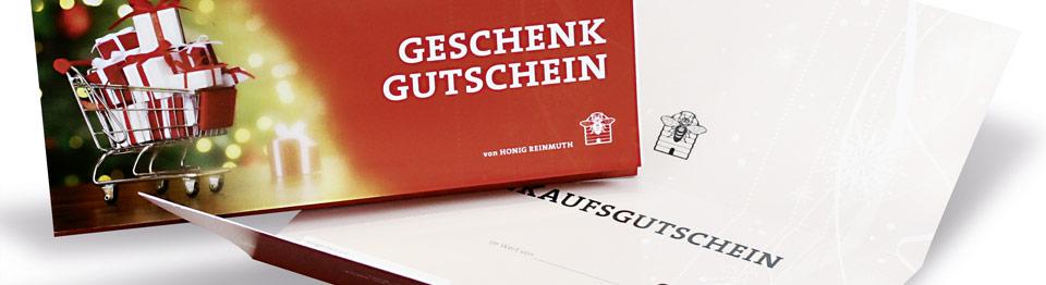 Ihr individueller Geschenk-Gutschein von Honig Reinmuth